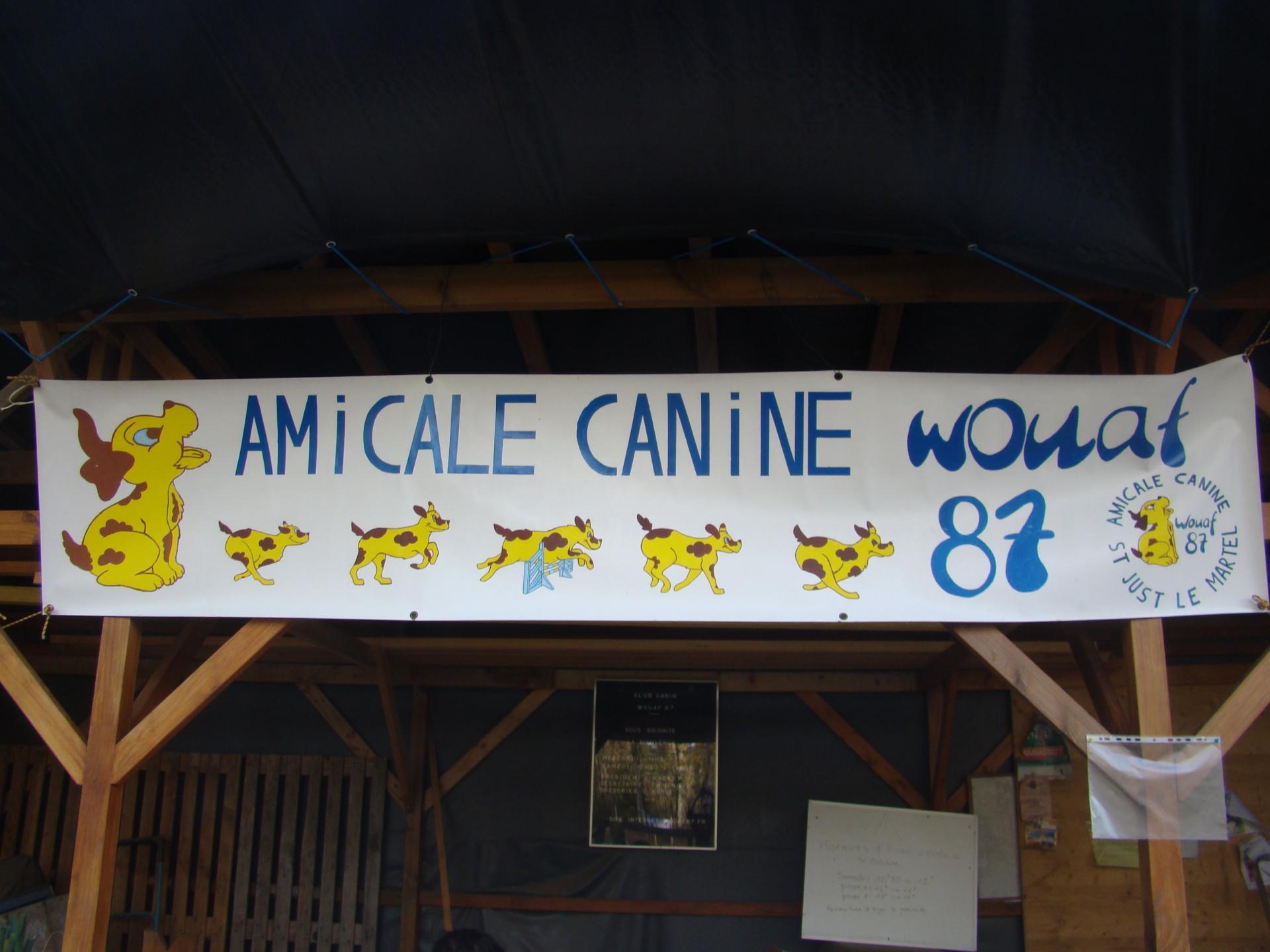 Amicale Canine wouaf 87