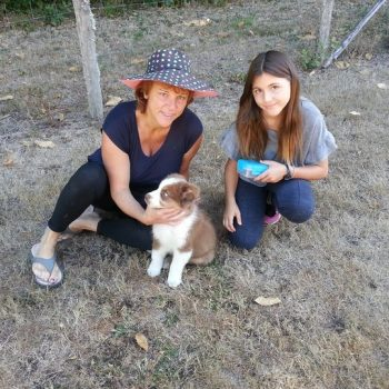Carine, Zoé et BB Melkior